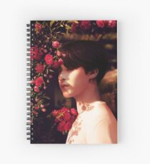 """""""When you called me, I became your flower."""" Spiral Notebook"""