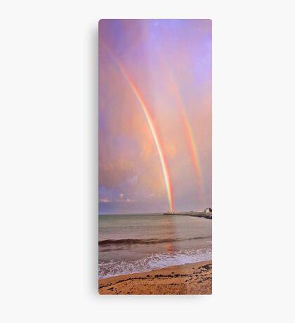 Rainbows Over Fremantle  Metal Print