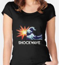 SHOCKWAVE par Skyzs Women's Fitted Scoop T-Shirt