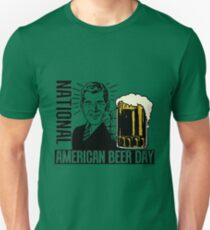 NATIONAL AMERICAN BEER DAY Unisex T-Shirt