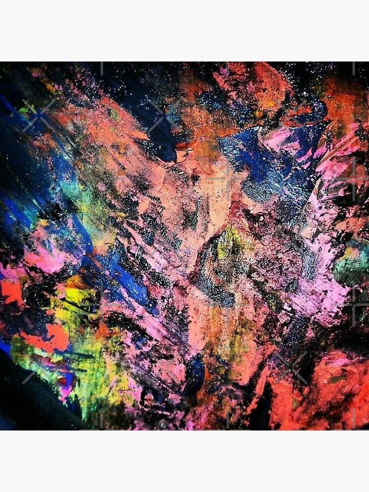 Essay On Mixed Colors Abstract Expressionism Metal Print
