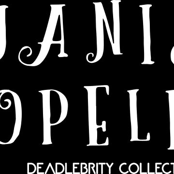Janis Dopelin-Deadlebrity collection 2018 by PinnaArdens