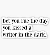 Lorde Writer In The Dark Sticker