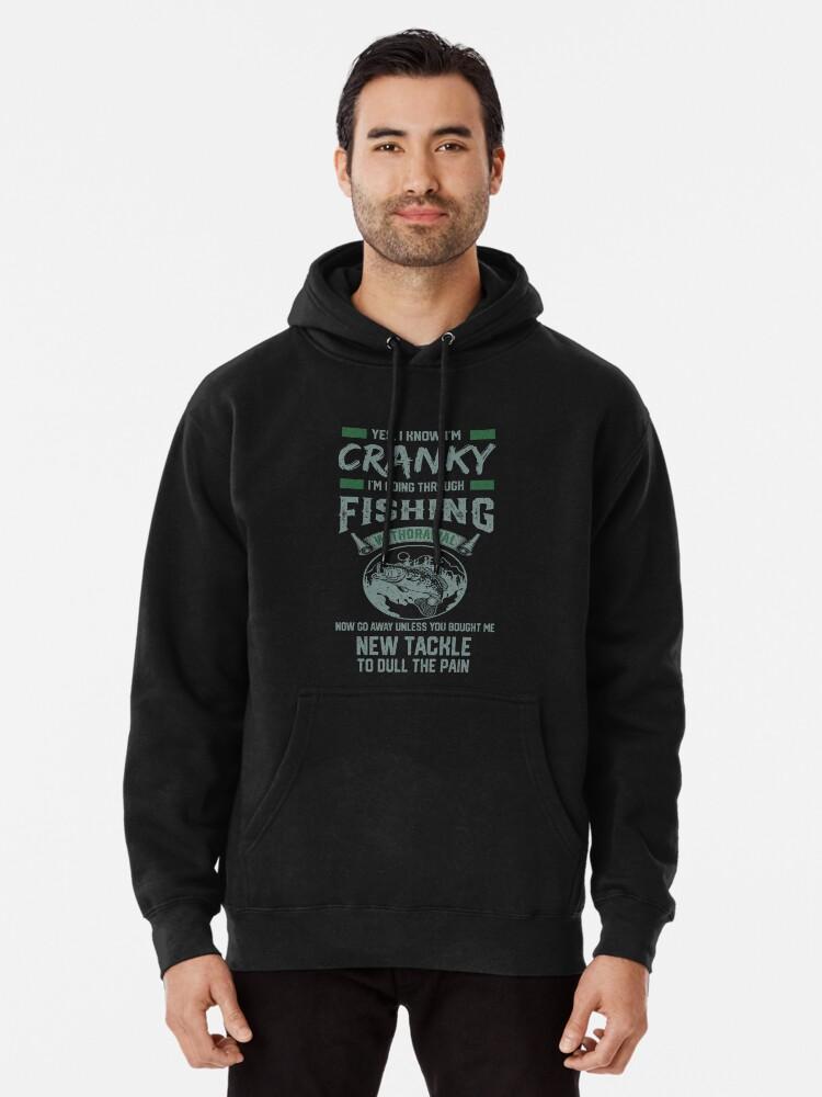 Fishermans Ugly Christmas Sweater Style Fishing Bass Zip Hooded Sweatshirt