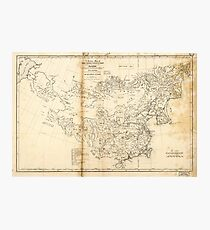 Map of China Chinese-Tartary & Tibet (1834) Photographic Print