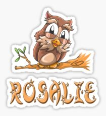 Rosalie Owl Sticker