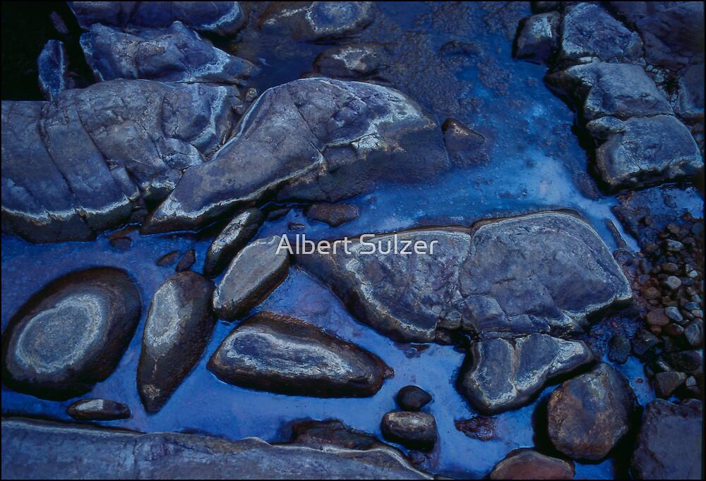 Blue Rock Pool Ormiston by Albert Sulzer