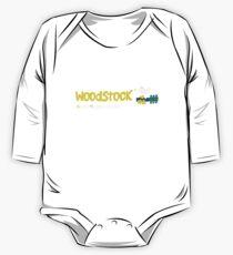 Woodstock 1969 Long Sleeve Baby One-Piece
