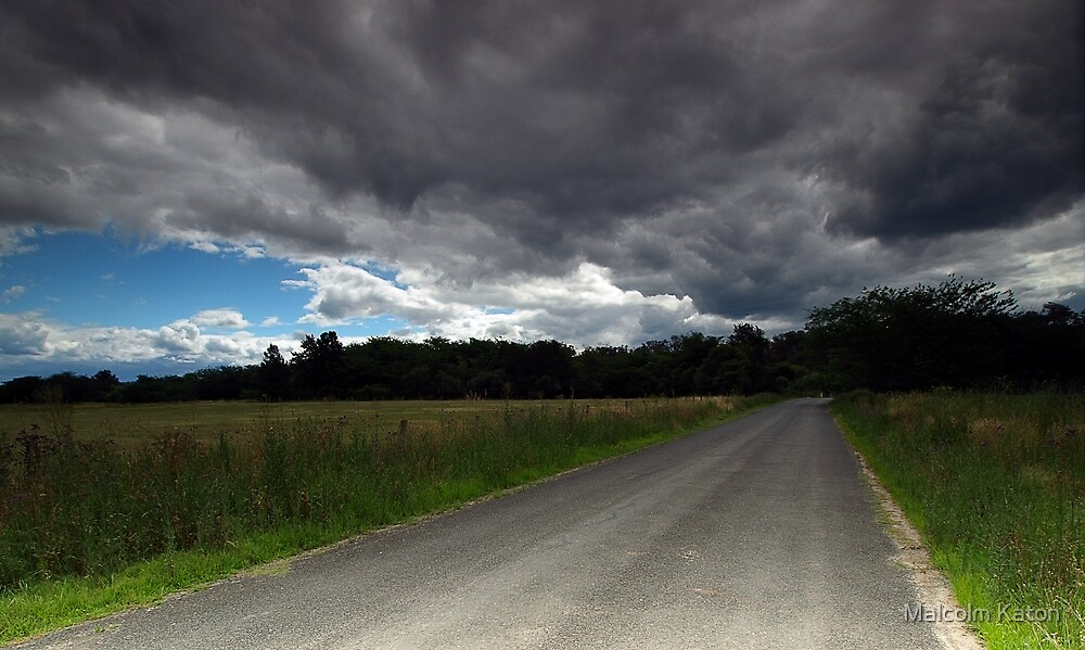 Road to Ruin - Theresa Park, NSW by Malcolm Katon