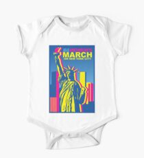 Womens March on new york 2018 One Piece - Short Sleeve
