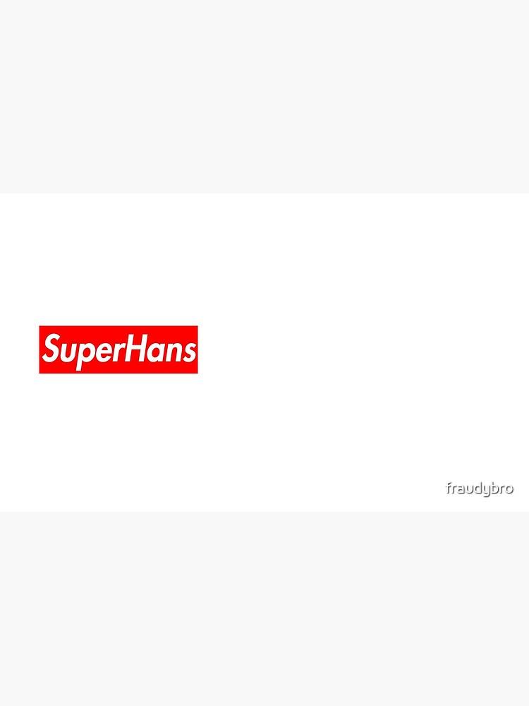 SuperHans - Peep Show x Supreme Parody de fraudybro