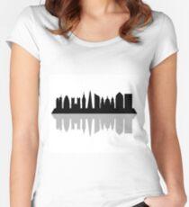 London skyline Women's Fitted Scoop T-Shirt
