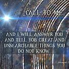Call To Me by Patricia Howitt
