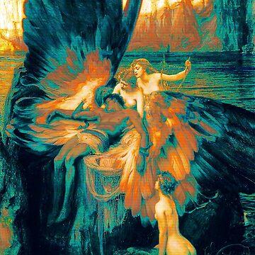 Fallen Angel - Vaporwave de ChanTees