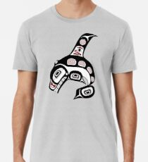 Northwest Pacific coast Haida art Killer whale Premium T-Shirt
