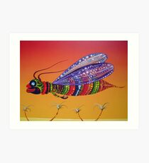 The Pollenator Art Print