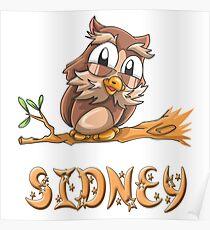 Sidney Owl Poster