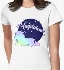 Magdalena name first name Women's Fitted T-Shirt