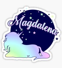 Magdalena name first name Sticker