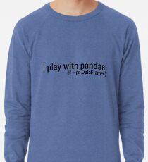 I Play with Pandas. Lightweight Sweatshirt