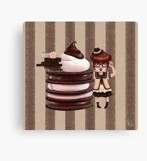 Chocolate Nerd Canvas Print