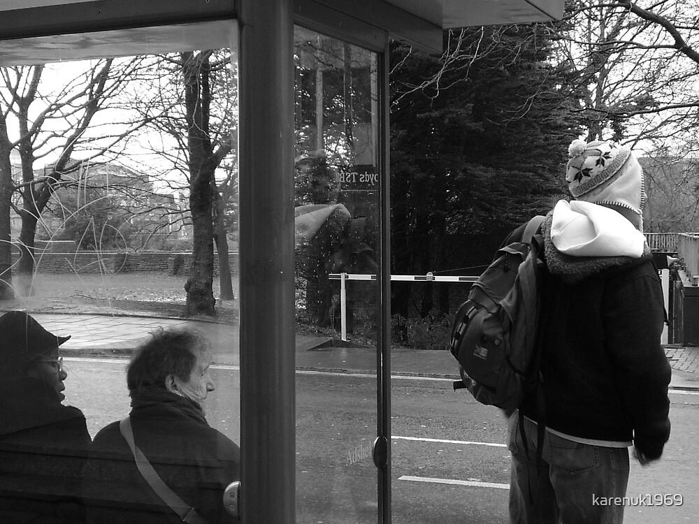 Bus Stop by karenuk1969