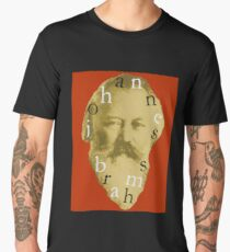 Brahms 4 (Red) Men's Premium T-Shirt