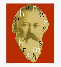 Brahms 4 (Red) Photographic Print