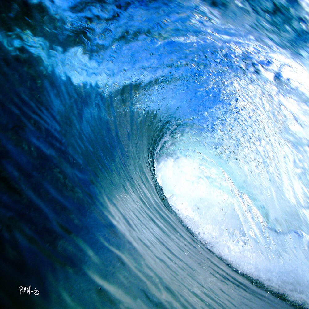 Blue Tube! by Paul Manning