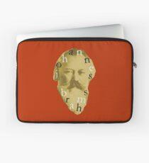 Brahms 4 (Red) Laptop Sleeve