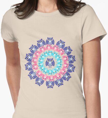circle of owls T-shirt  T-Shirt