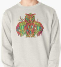 Owl, cool art from the AlphaPod Collection Pullover