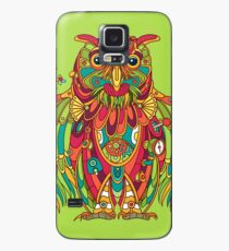 Owl, cool art from the AlphaPod Collection Case/Skin for Samsung Galaxy