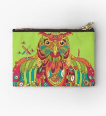 Owl, cool art from the AlphaPod Collection Studio Pouch