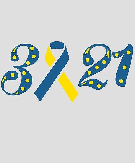Down Syndrome Awareness Trisomy 21 Short Sleeve Unisex T Shirt