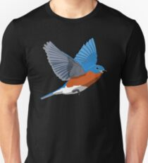 Eastern Bluebird Unisex T-Shirt