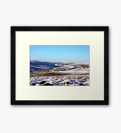 Views of the North Yorks Moors National Park Framed Print