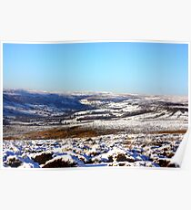 Views of the North Yorks Moors National Park Poster