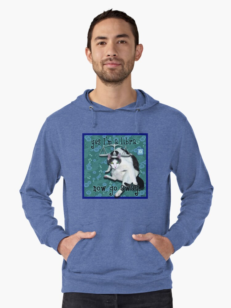 Checkers Libra Lightweight Hoodie Front