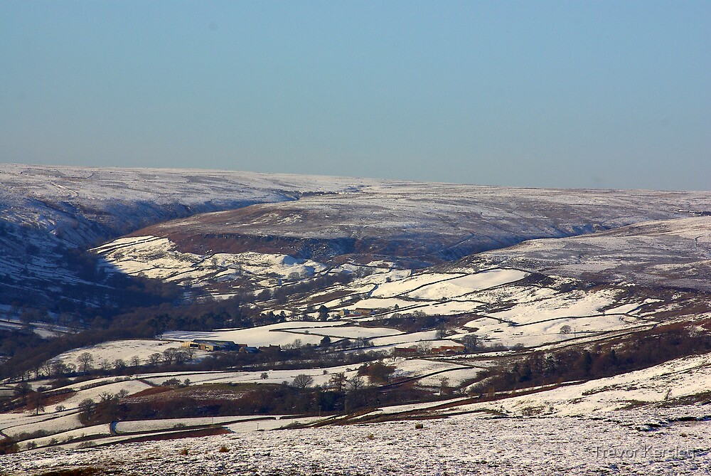 Views of the North Yorks Moors National Park #2 by Trevor Kersley