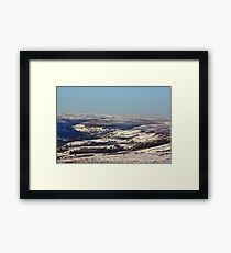 Views of the North Yorks Moors National Park #2 Framed Print