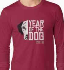 Dalmatian Year of the Dog Chinese New Year 2018 Long Sleeve T-Shirt