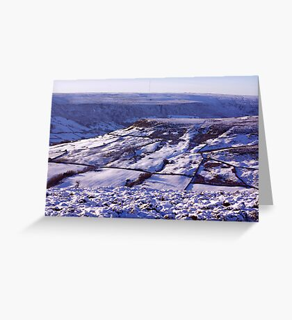 Views of the North Yorks Moors National Park #3 Greeting Card