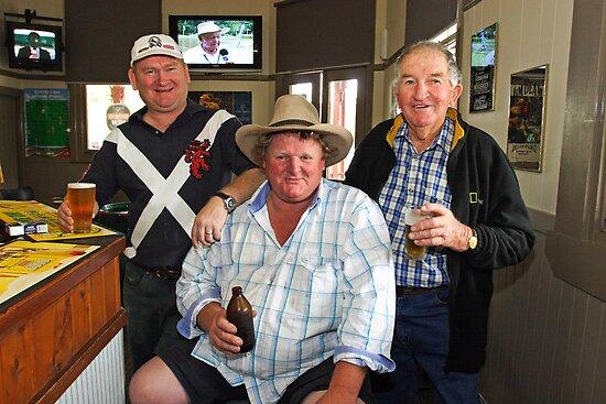 Bobby O'Brien, Nobby McMahon & Kevin Slater by Darren Stones