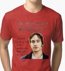 Mr. Darcy Pride & Prejudice Tri-blend T-Shirt