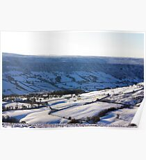 Views of the North Yorks Moors National Park #4 Poster