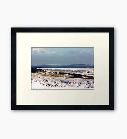 Views of the North Yorks Moors National Park #5 Framed Print