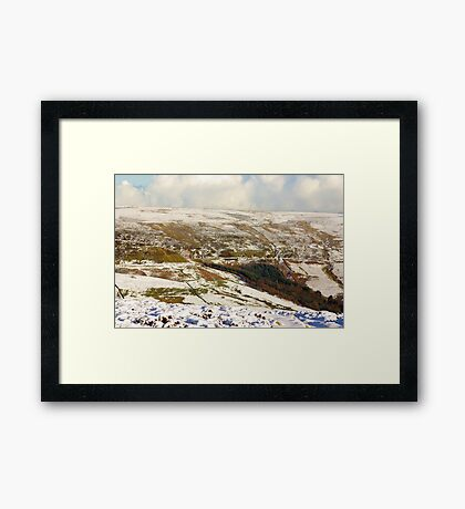 Views of the North Yorks Moors National Park #7 Framed Print