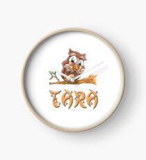 Tara Owl Clock