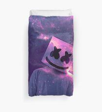 Marshmello Galaxy Purple Duvet Cover